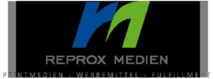 Reprox Medien Logo