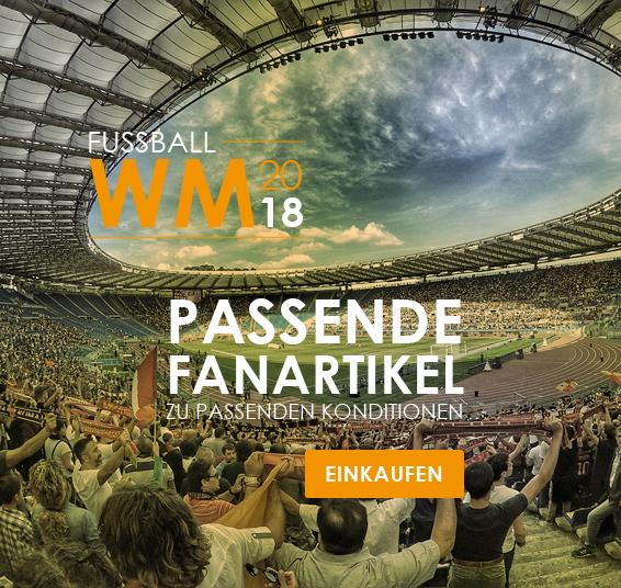 Werbeartikel zum Thema Fußballweltmeisterschaft 2018
