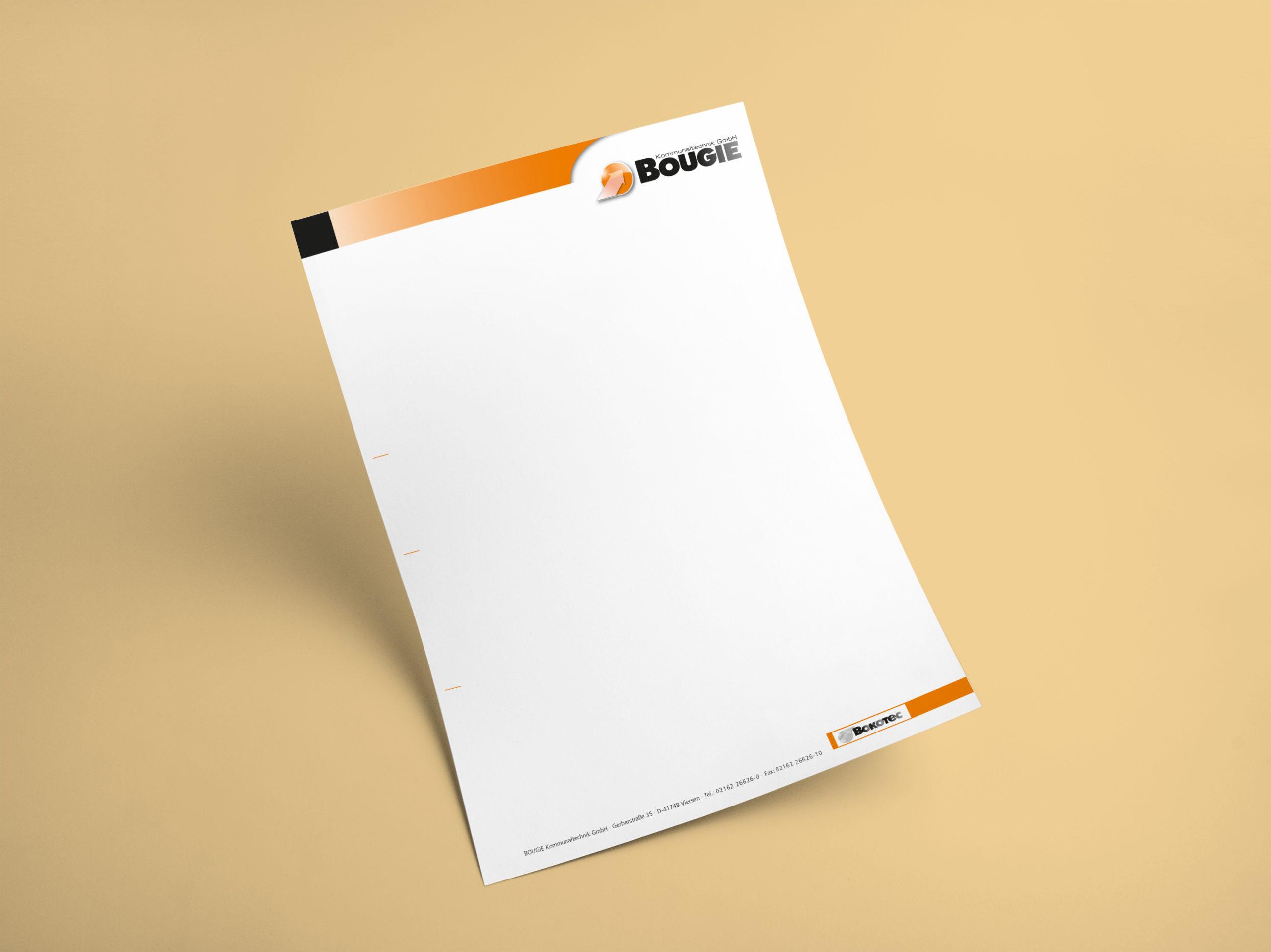 Briefbogen / Rechnungspapier